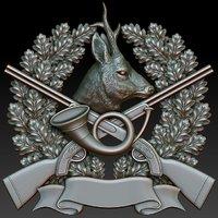 Hunting badge Roe Deer