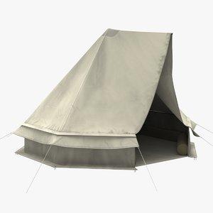 3D octagon camping tent