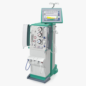 dialysis machine rigged model