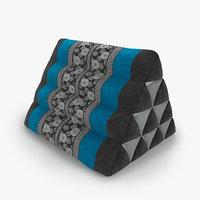 3D thai mattress triangle cushion
