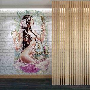 wall panel set 81 model