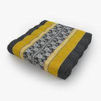 thai mattress pillow yellow model