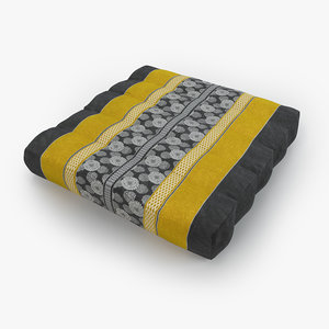 thai mattress pillow yellow model