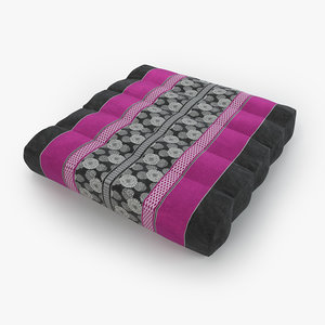 3D thai mattress pillow pink