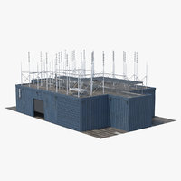 3D rooftop radio transmitters
