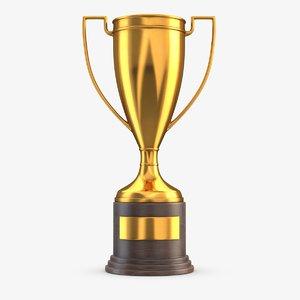 gold trophy 3 model