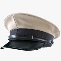 3D model naval hat