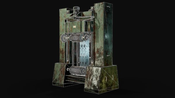3D frame pbr model