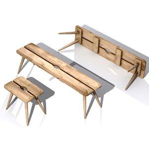 stool bunkers model