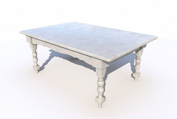 dining wooden table model