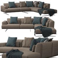 3D divani albachiara sofa