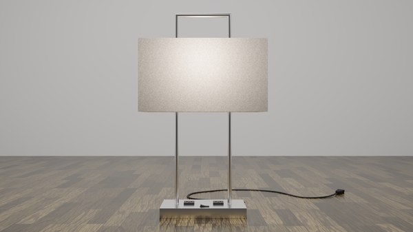 3D modern table lamp