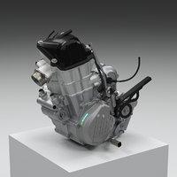 ktm 450 500 4 3D model