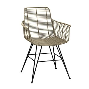 chair hermosa outdoor arm 3D model
