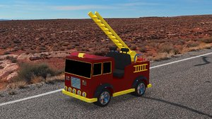truck toy 3D