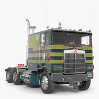 3D cabover truck marmon 110p