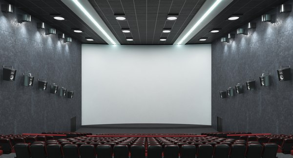 3D hall projects lighting