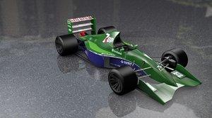 formula 1 race car 3D model