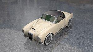 lancia aurelia b24 convertible 3D
