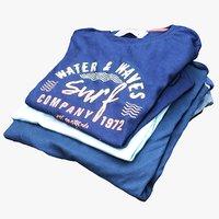 folded t-shirts 16 model
