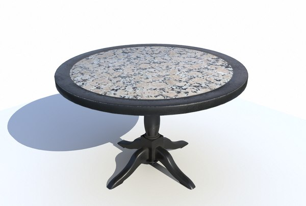 dining table 3D model
