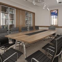 meeting room interior model