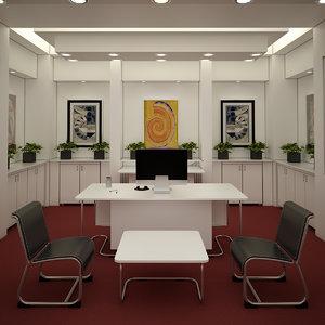 office interior 3D model