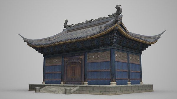 palace ancient architecture 3D model