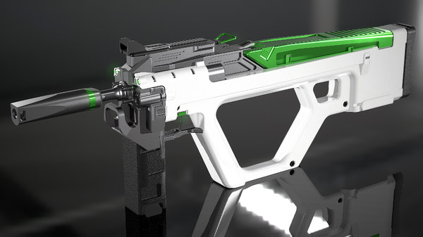weapon gun 3D model