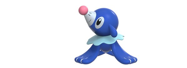 3D popplio characters