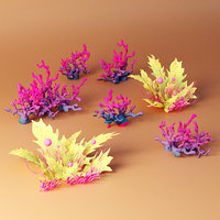 3D plant aquatic