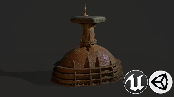 metal pbr 3D