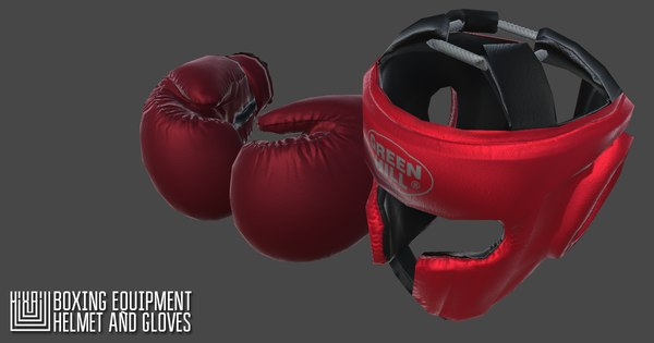 vr boxing equipment - 3D model