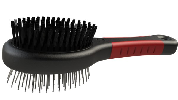 3D hairbrush solidworks model