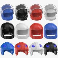 3D lego helmets