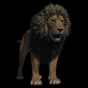tobias lion rig 3D