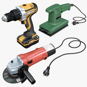 3D tools cordless drill
