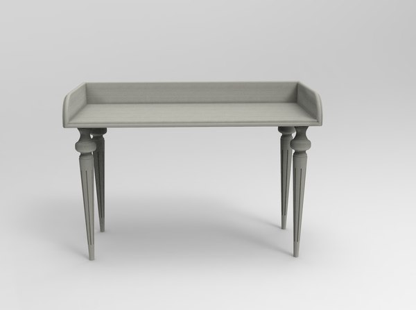piano table 3D model