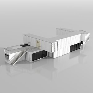 3D container project model