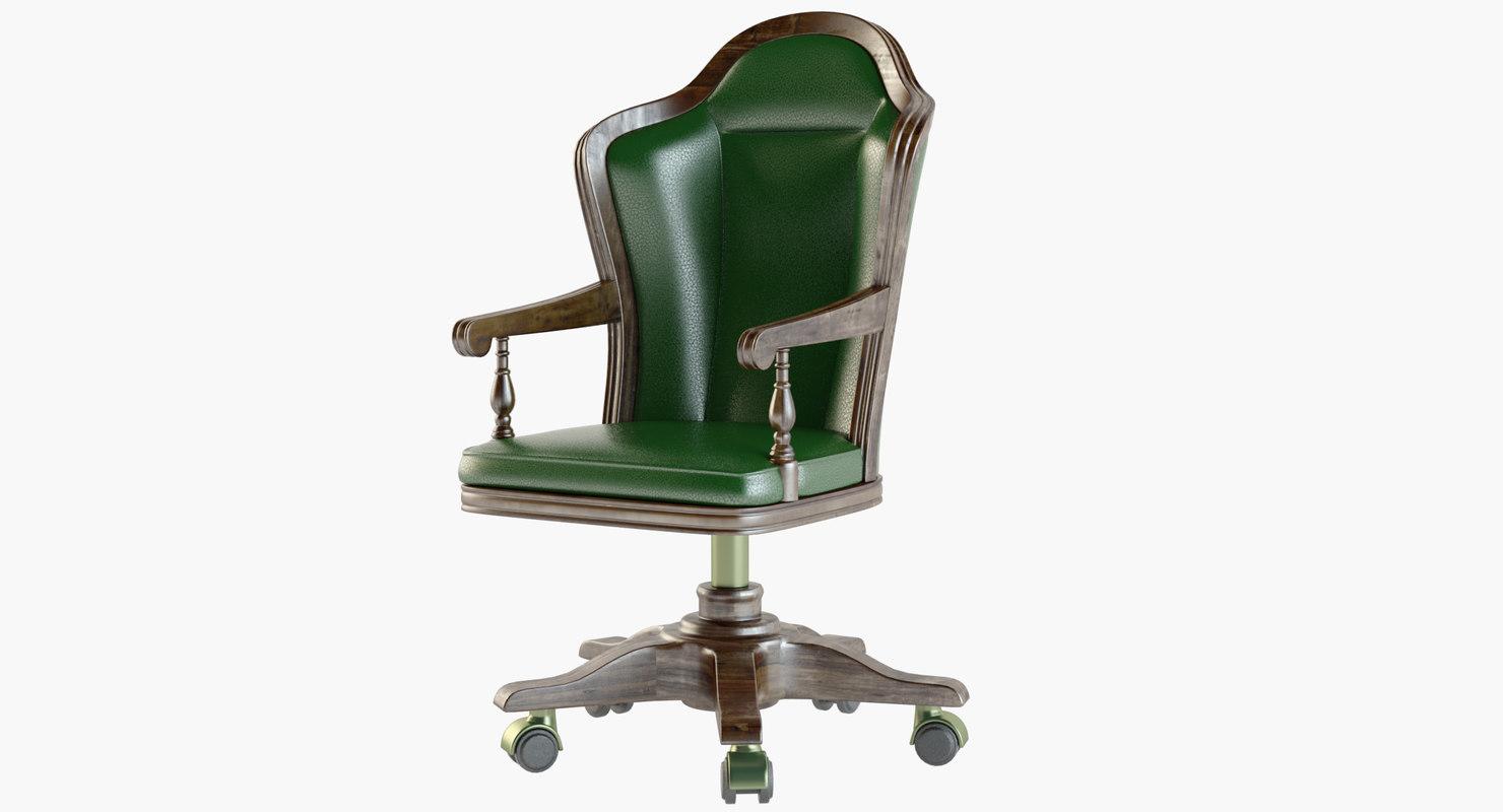3D classical chair