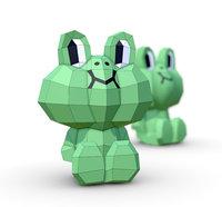 frog leonardo model