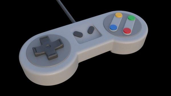 gamepad pad 3D model