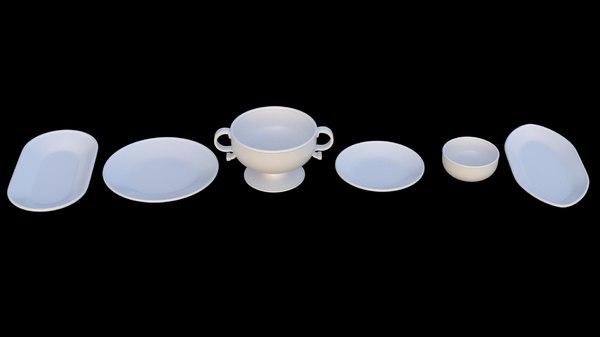 6 plate - model