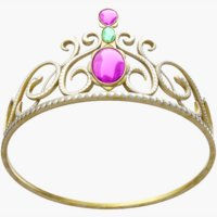 3D model tiara jewelry fashion