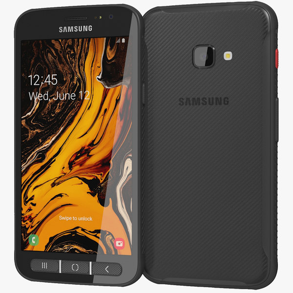 realistic samsung galaxy xcover 3D model