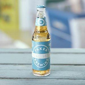 3D light beer octane bottles