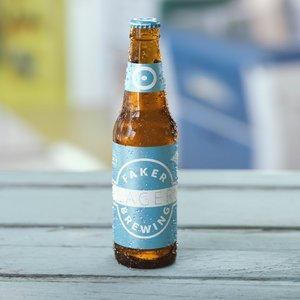 lager beer octane bottles 3D model