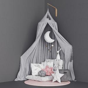 moon canopy 3D model