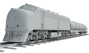 3d train tanker