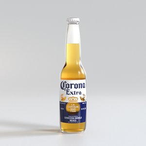 beer bottle corona model